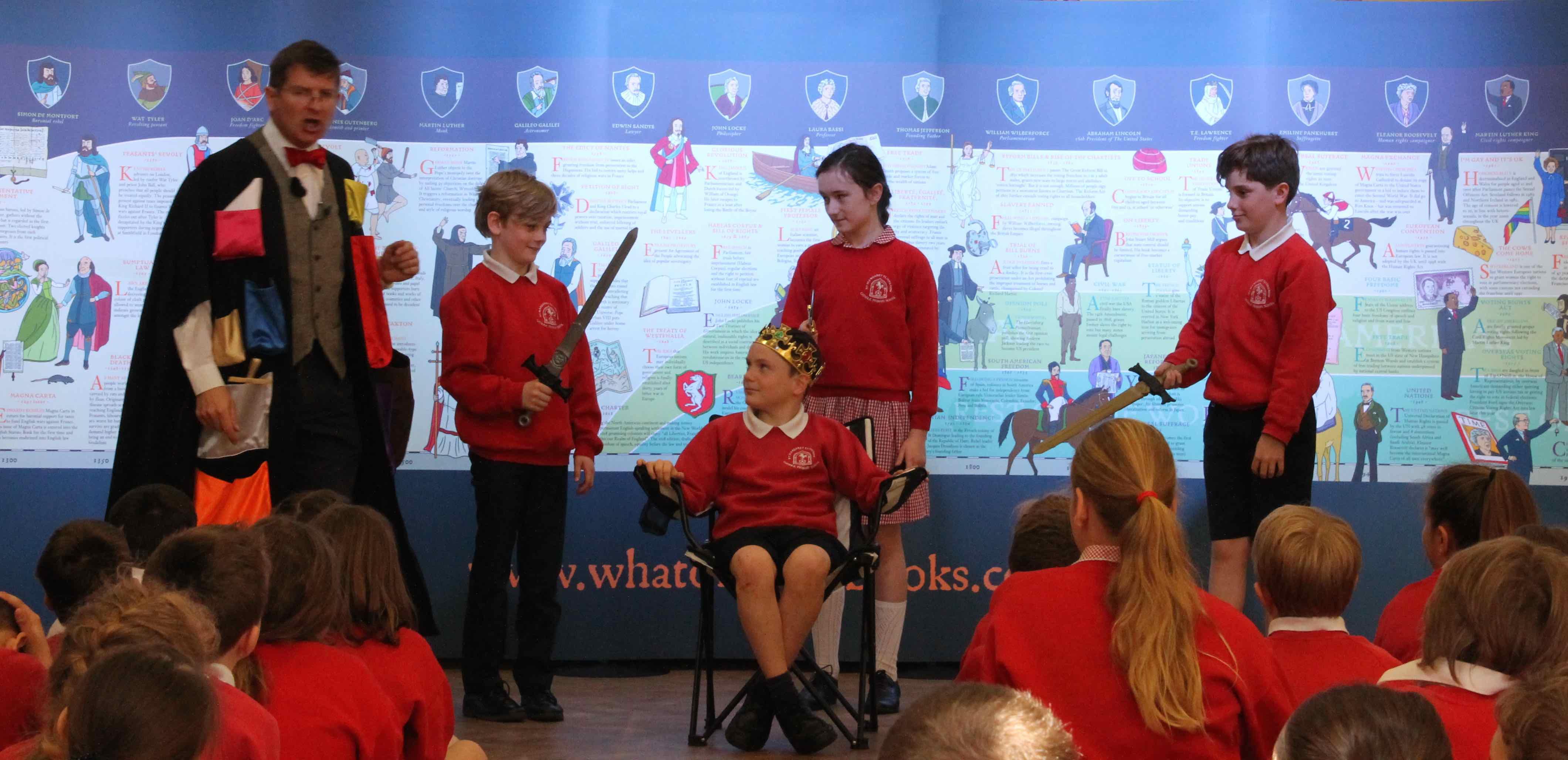 Magna School School Talk with Christopher Lloyd