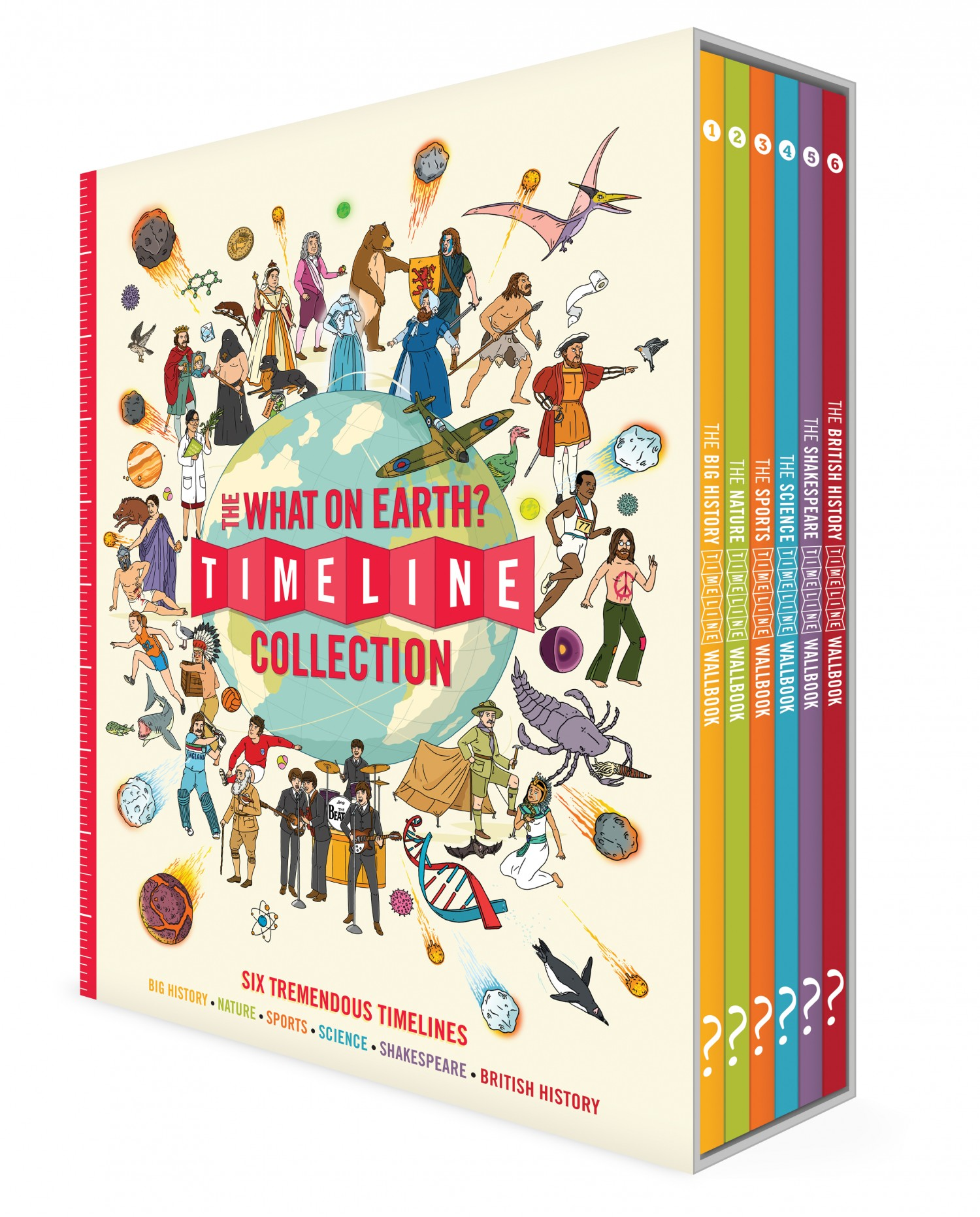 the timeline collection 6 title set what on earth books