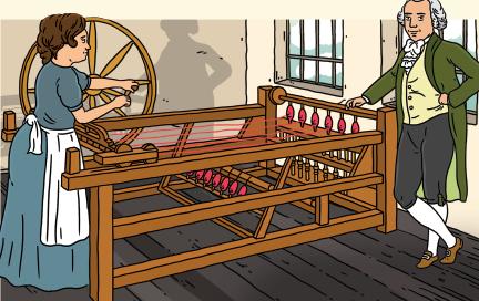 Spnning Wheel Image