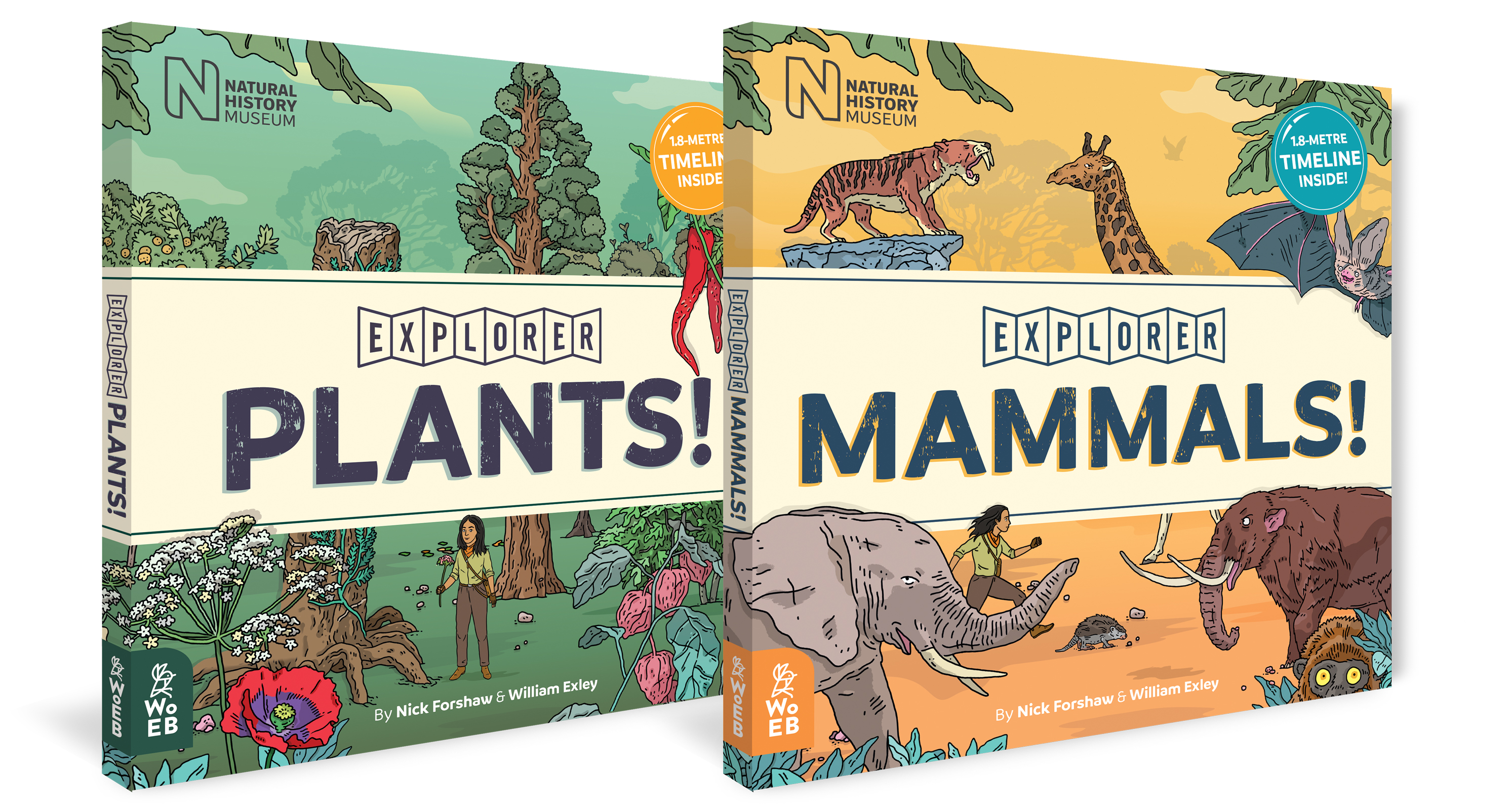 Explorer Duo: Plants and Mammals