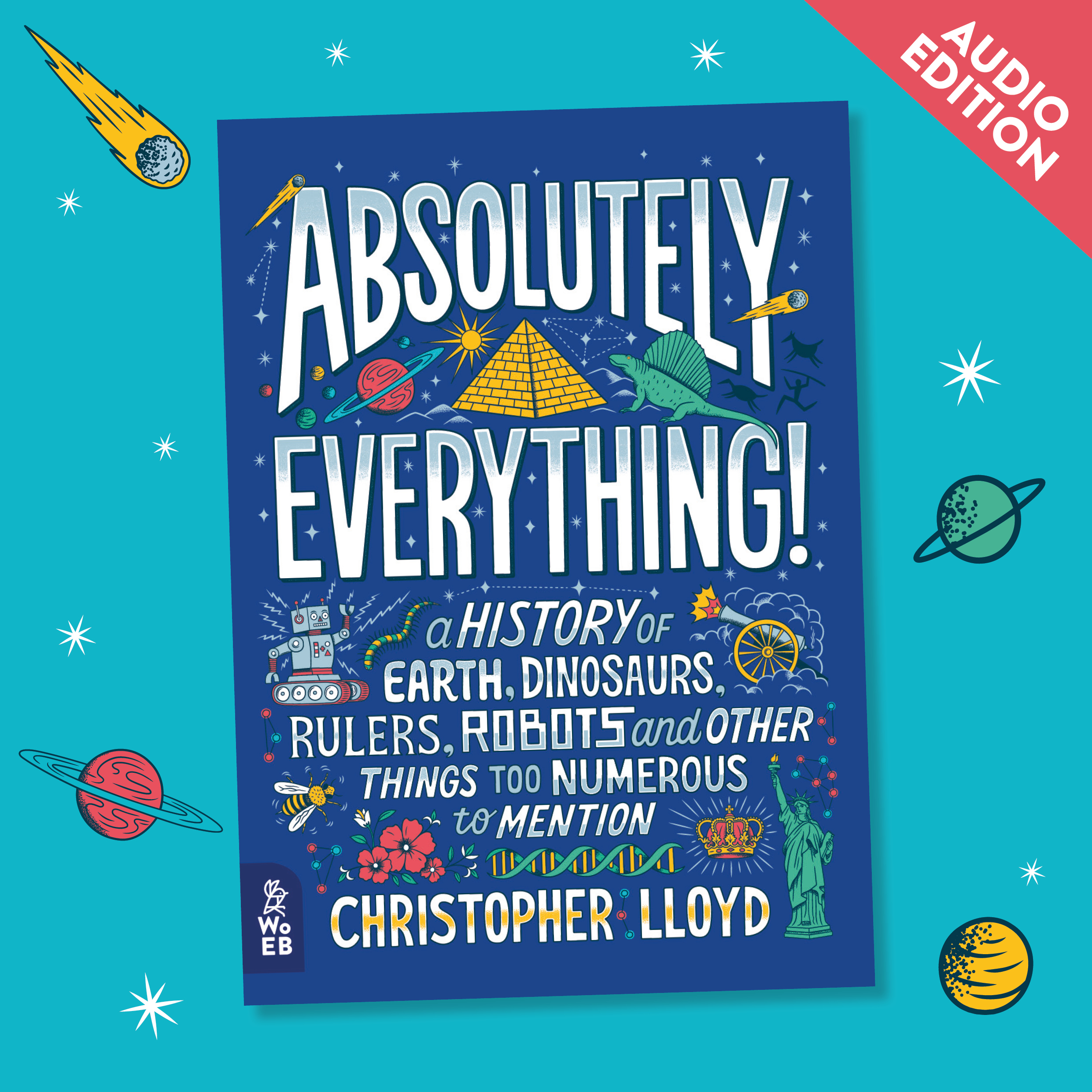 Announcing: <b><i>The Absolutely Everything!</i> Audiobook Edition</b>