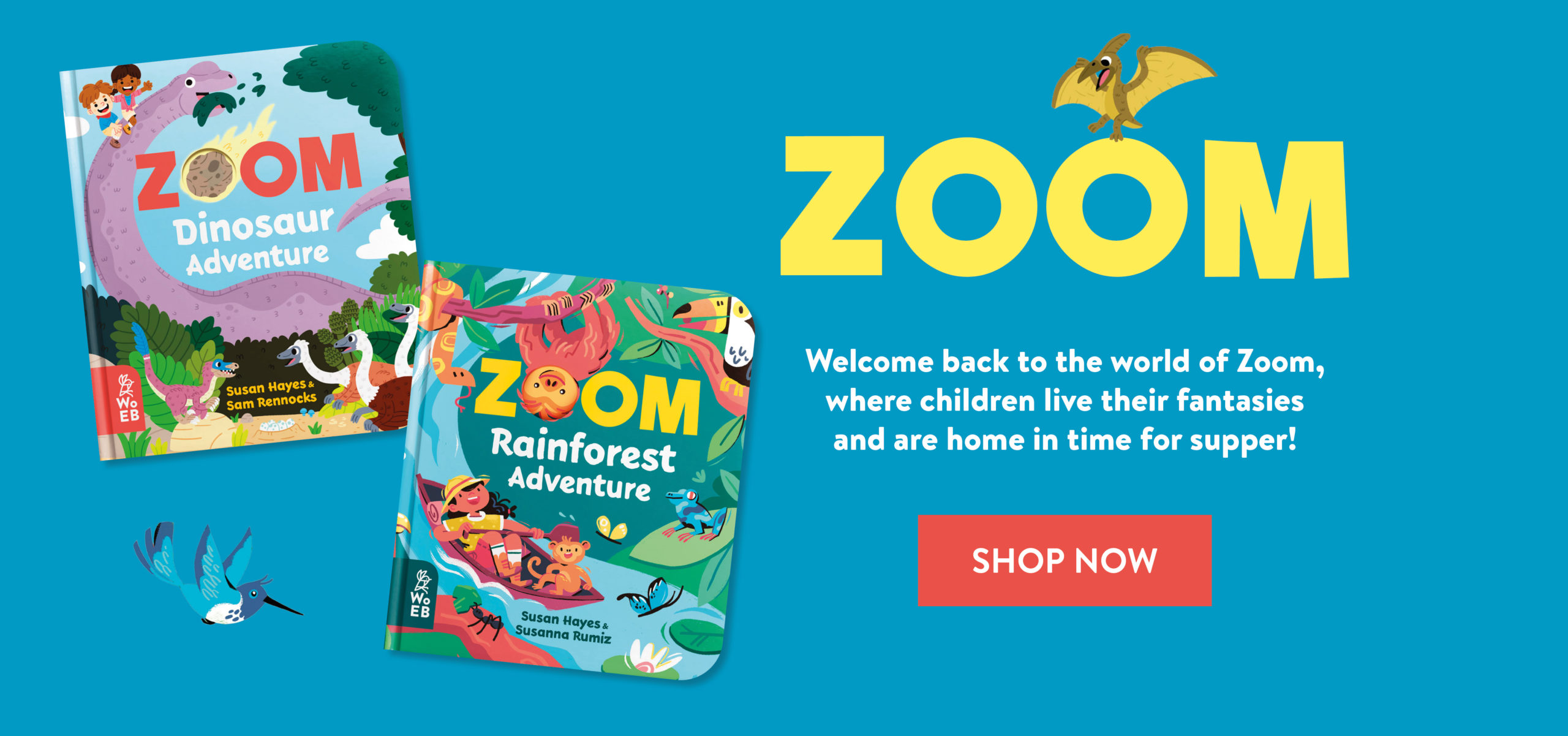 Zoom Dinosaur and Rainforest